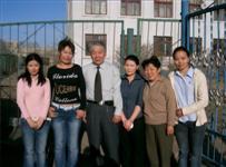 モンゴル国立大学エコロジー教育センターの専門家の皆さん